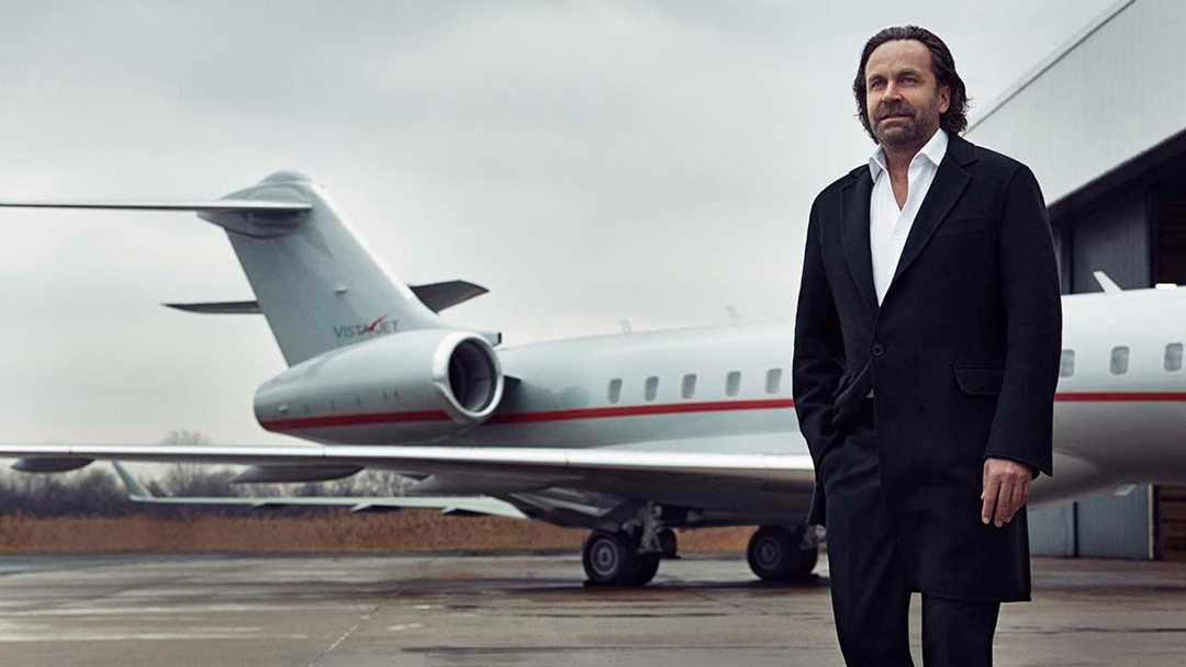 Thomas-Flohr-Founder-Chairman-VistaJet | Business Airport International