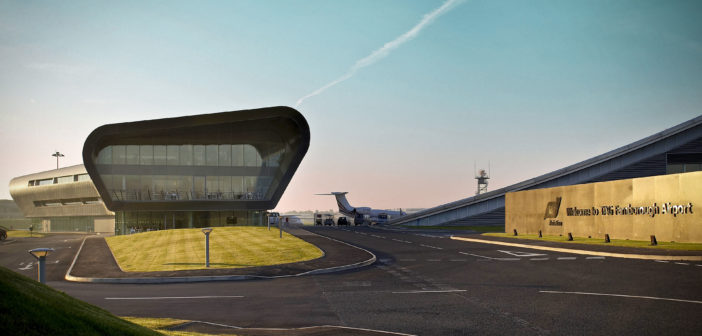 Farnborough Airport has announced record air traffic movements for a third consecutive year