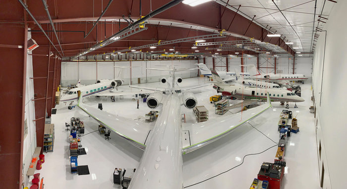 West Star Aviation completes construction of new hangar at