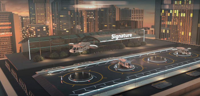 Signature to supply Skyport infrastructure to Uber