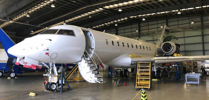 Metrojet completes Global 5000 60-month inspection