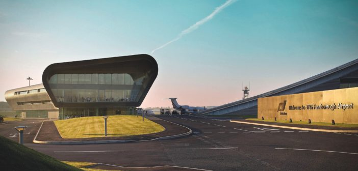 Farnborough Airport was ranked the second busiest airport in Europe