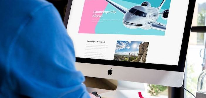 New look and website for Cambridge City Airport