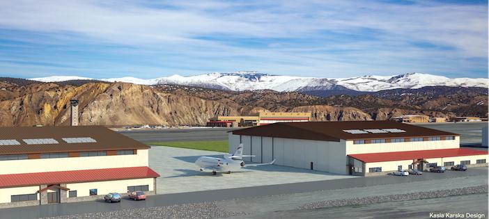 Vail Valley Jet Center's hangar projects break ground