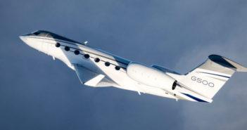 G500 in flight