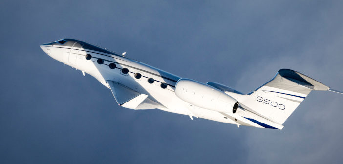 G500 in flight