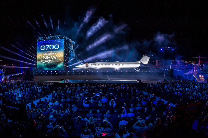 G700 unveiling