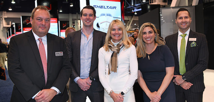 Sheltair and Blade at NBAA-BACE