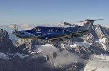 Swiss aircraft-maker Pilatus unveiled single-engine turboprop PC-12 NGX