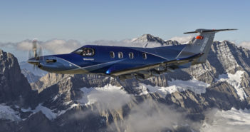 Swiss aircraft-maker Pilatus unveiled single-engine turboprop PC-12 NGX