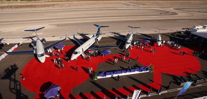 Embraer Exec Jets Demo fleet