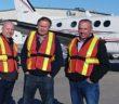 Executives at Red Deer Airport