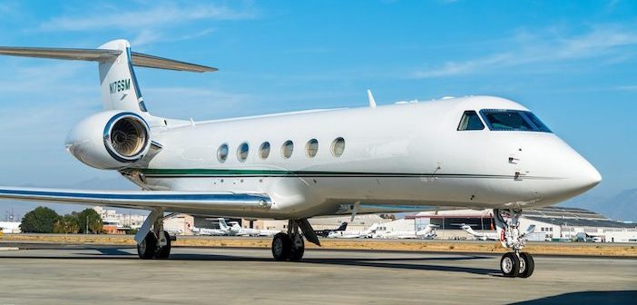 Planet Nine adds Gulfstream GV to managed charter fleet