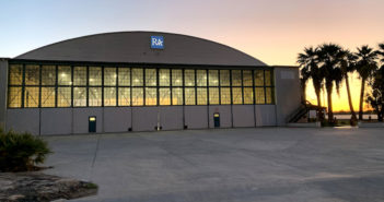 Ross Aviation's newly acquired hangar at KTRM