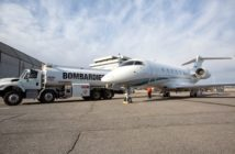 Latitude 33 Aviation has taken delivery of the first Bombardier customer aircraft to fly away on sustainable aviation fuel (SAF)
