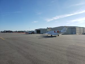 Kinston Regional Airport has a relatively long runway for a general aviation airport of 11,480ft