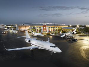 Banyan Air Services based at Fort Lauderdale Executive Airport has been planning for the Super Bowl for a year