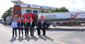 Avfuel has delivered 7,000 gallons of sustainable aviation fuel (SAF) to Banyan Air Service (KFXE) in Fort Lauderdale, Florida