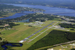 Coastal Carolina Regional Airport in North Carolina received a US$5 million grant to build a new rescue and fire fighting services building