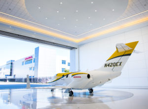 An expansion of the company's manufacturing facility at Piedmont Triad International Airport will make the wings for the HondaJet Elite