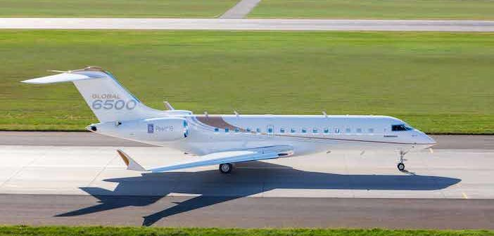 Bombardier has delivered its first Global 6500 aircraft to Hong Kong aircraft management company HK Bellawings Jet