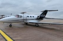 The aircraft is the second Mustang under the oversight of Heron Aviation España