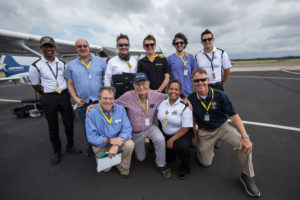 The research team at Embry-Riddle has investigated the use of the vibrating vest to warn pilots about spatial disorientation