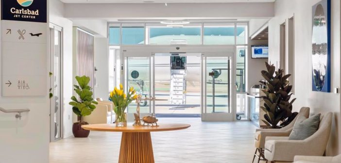 Carlsbad Jet Center has opened a new executive terminal at McClellan - Palomar Airport
