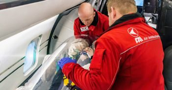 FAI rent-a-jet, a leading German Air Ambulance specialist and special mission operator has been working around the clock to help evacuate those in need