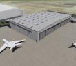 hangar at Dallas Love Field