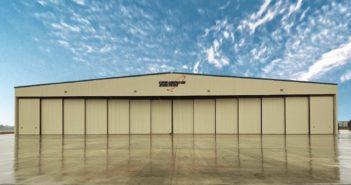 Stevens Aerospace hangar