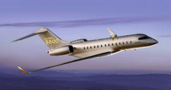 Bombardier Global 5500 aircraft