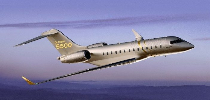 Bombardier Global 5500 aircraft