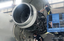 MRO station of Hong Kong-based Metrojet has been busy with engine changes, base maintenance, modification programs and aircraft disinfection projects throughout the pandemic
