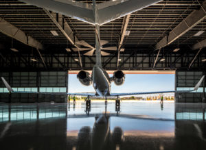 The FBO features two oversized hangars, available for short to long term lease