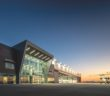This time-lapse video shows how the newest fixed base operator (FBO) at the Houston William P. Hobby Airport (HOU) was built