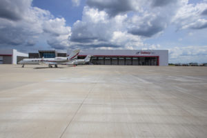 Galaxy FBO provides ground handling and fuelling operations for its sister company Wing Aviation