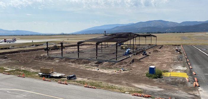 hangar construction