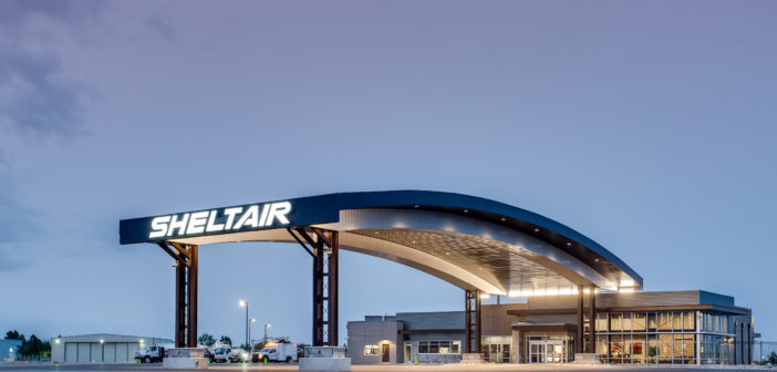 Sheltair has announce the opening of its new FBO and hangar complex at the Rocky Mountain Metropolitan Airport