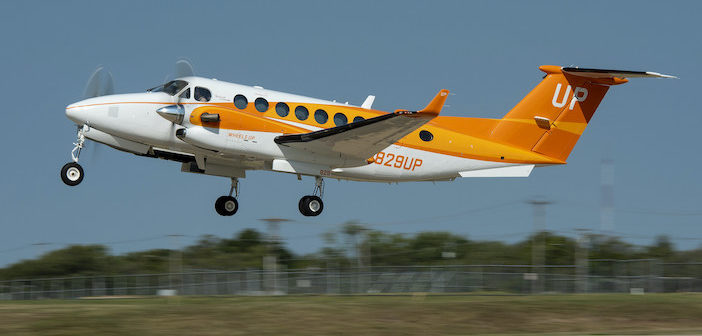 Wheels Up reveals orange plane to raise awareness of food banks and hunger