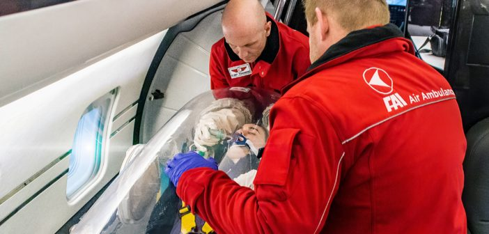 How business aviation's medical services are taking an active role in the battle against Covid-19