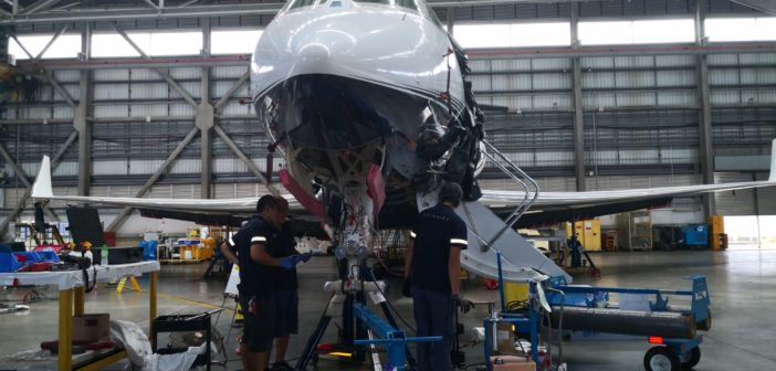 Metrojet is the only MRO in Hong Kong that has completed two Gulfstream G650ER 4C inspections