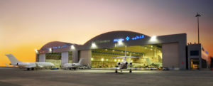 DC Aviation's FBO at Al Maktoum International Airport, which is located at Dubai South, formerly known as Dubai World Central