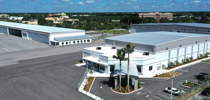 Sheltair's Northside hangar complex is now open