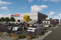 Jet Aviation announced its new FBO and hangar terminal in Scottsdale