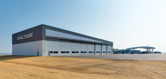 Sheltair has announced that its new hangar and office facility at Rocky Mountain Metropolitan Airport has been completed