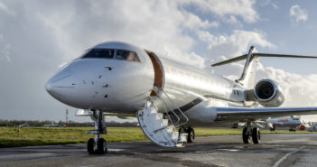 California-based Planet Nine added a Bombardier Global Express BD-700 (N551SW) ​to its managed fleet at the end of December
