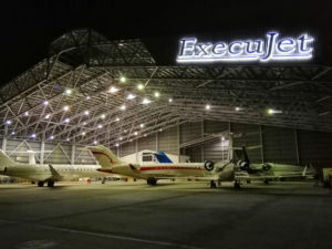 ExecuJet offers MRO services at the Abdul Aziz Shah Airport in Malaysia in a 64,000 square foot facility