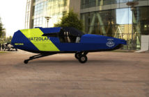 Artist's impression of the CityHawk in the air ambulance livery (Image: Urban Aeronautics)