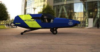 Artist's impression of the CityHawk in the air ambulance livery (Image: Urban Aeronautics)